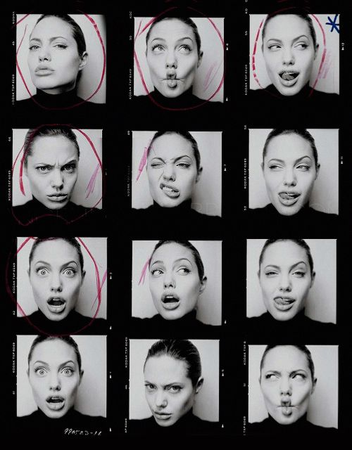 """I don't see myself as beautiful, because I can see a lot of flaws. People have really odd opinions. They tell me I'm skinny, as if that's supposed to make me happy."" Angelina Jolie"