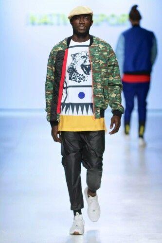 Native sport Mercedes Benz Fashion Week Cape Town SS 15/16