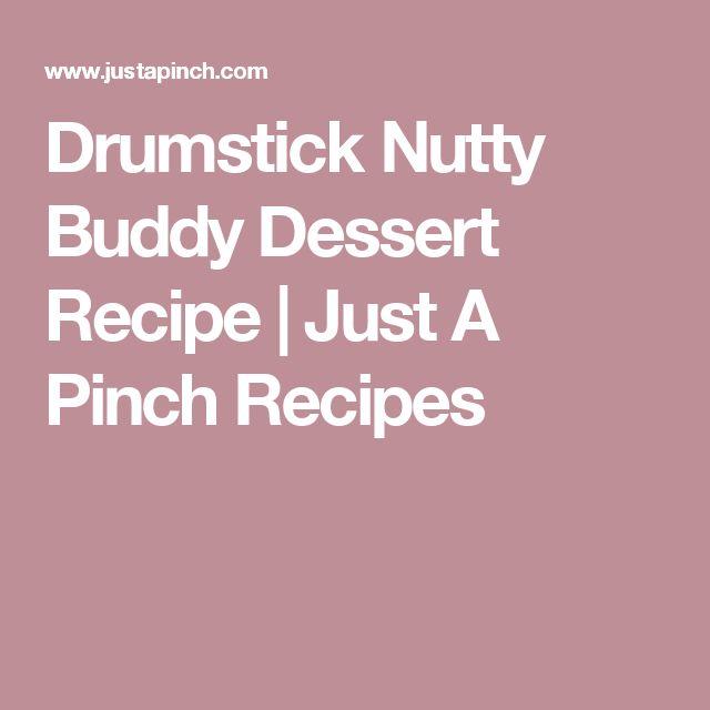 Drumstick Nutty Buddy Dessert Recipe | Just A Pinch Recipes