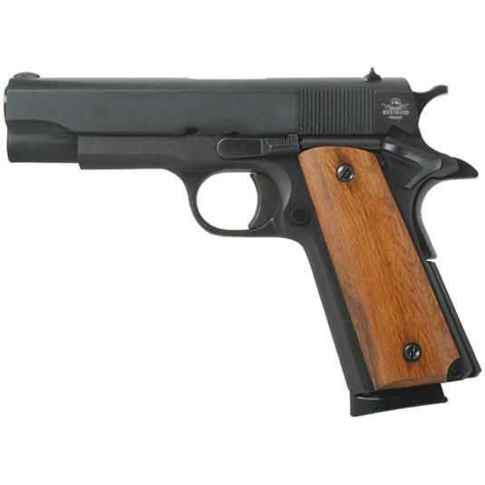 "ARMSCOR Armscor Precision Rock Island Armory 1911 GI Midsized .45 ACP 4.25"" Parkerized Fixed Sights 8 Round"