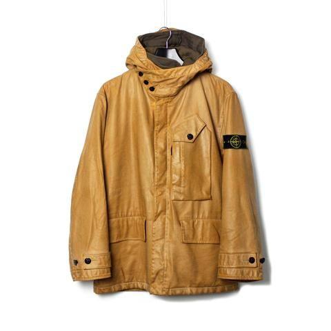 Stone Island AW 1997/8 Rubbersied Dual Layer Jacket