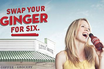 Ginger Beer Ad Offers You A Six-Pack In Exchange For Your Ugly Redheaded Kid - http://www.viralbuzzspot.com/ginger-beer-ad-offers-you-a-six-pack-in-exchange-for-your-ugly-redheaded-kid/