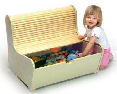 Ideas para el Almacenamiento de los Juguetes en las HabitacionesInfantiles   Decora Festa Infantil
