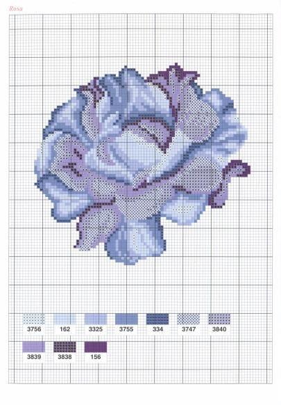 схемы красивых цветов. Обсуждение на LiveInternet - Российский Сервис Онлайн-Дневников