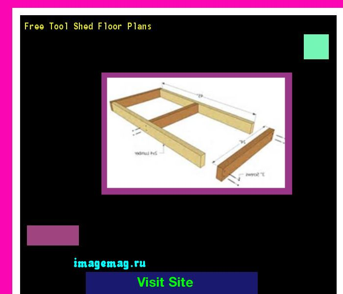 Free Tool Shed Floor Plans 085051 - The Best Image Search