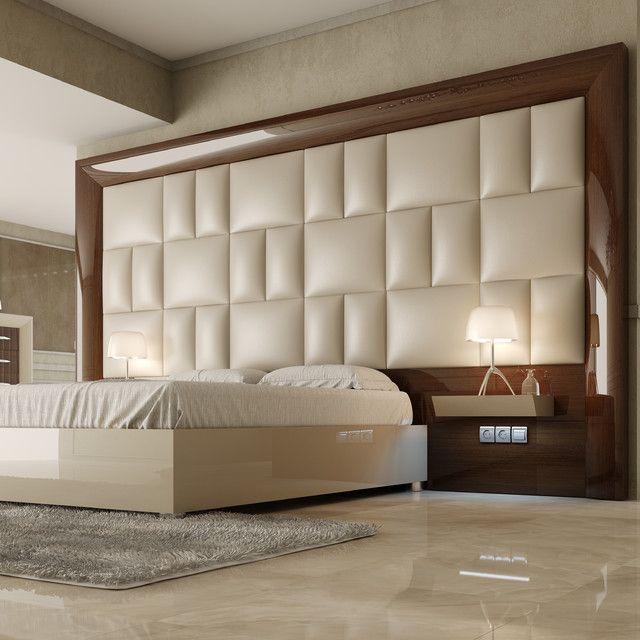 Bedroom, Fascinating Modern Headboard Pics With Contemporary Bedroom And  Flat Pack Bedside Cabinets Also Simple Window Curtains Bedroom : Modern  Headboard ...