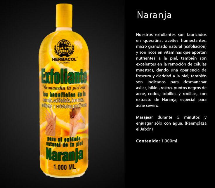 exfoliante naranja herbacol especial para acné severo