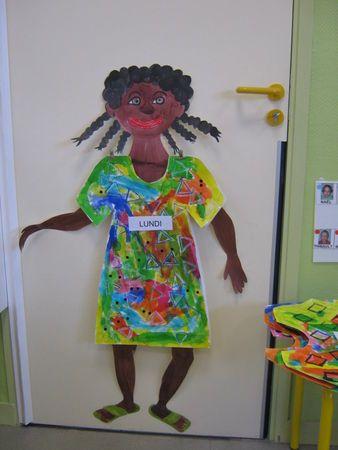 robe africaine- gezamelijke activiteit