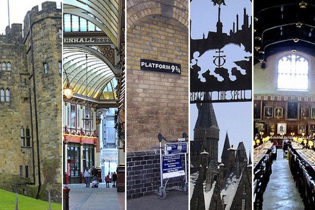 Harry Potter Destinations. I've been to half of these already....but I will see them all!
