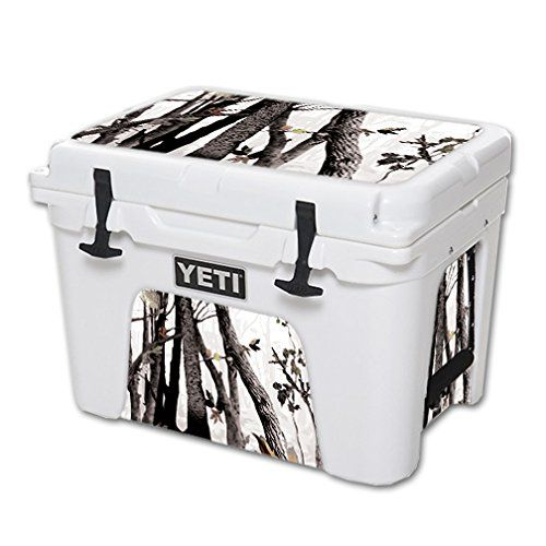 MightySkins Protective Vinyl Skin Decal for YETI Tundra 35 qt Cooler wrap cover sticker skins Artic Camo * For more information, visit image link.(This is an Amazon affiliate link and I receive a commission for the sales)