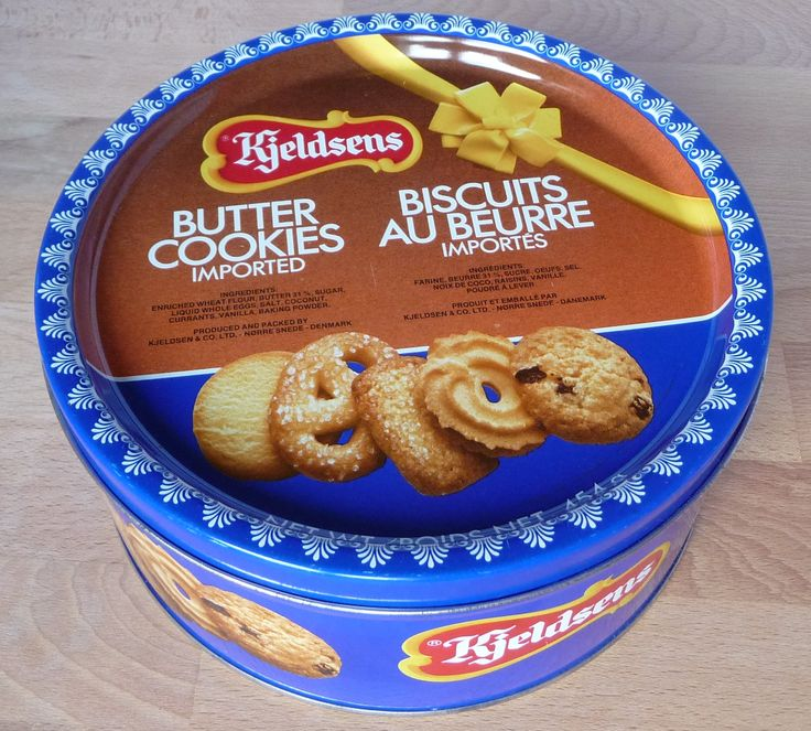 Blechdose  Kjeldsens Butter Cookies / Tin Box