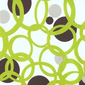 Full Circle Green - Futon Cover - Contemporary & Retro - Futon Covers
