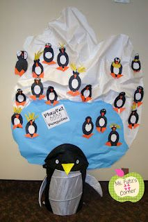 Classroom Freebies: Penguin Craftivity - some ideas for my 2nd grade group reading mr poppers penguins