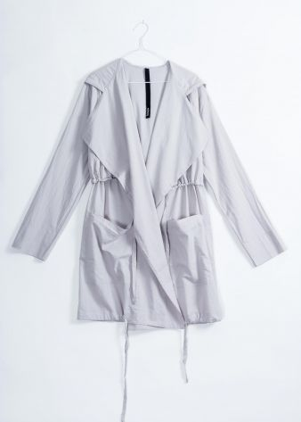 VACATION PARKA - Light grey - $300.00 : Green Horse, Lifestyle with a conscience