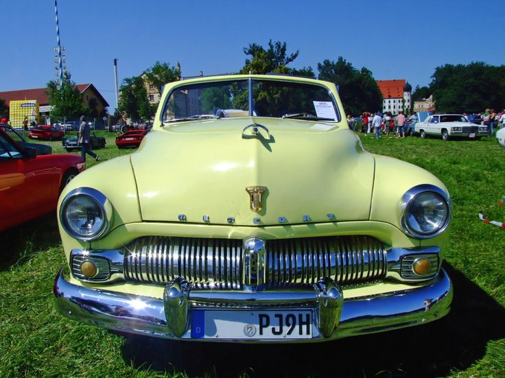 1950 - Mercury 8 Convertible 130PS - front