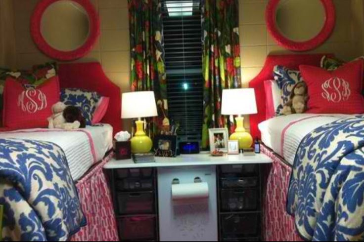 Decorating Ideas > Like The Mirrors Above The Bed  Dorm Sweet Dorm  ~ 045423_Matching Dorm Room Ideas
