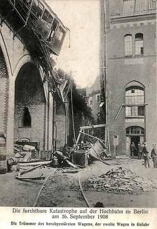 Berlin: Gleisdreieck am 26.September 1908