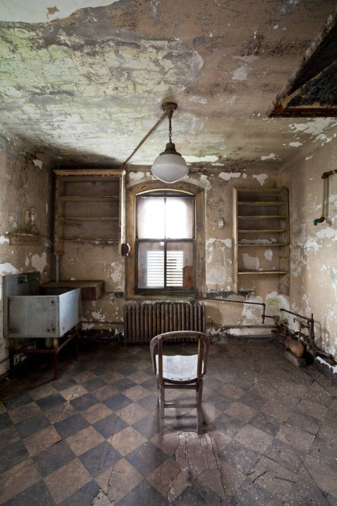 Ellis Island Hospital Complex, New York Harbor, NY: Once the largest US Public Health Service Institution in America - the hospital is dilapidated and faces a lack of funding.
