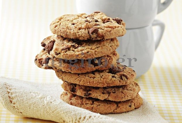 Μπισκότα με σταφίδες, σοκολάτα και νιφάδες βρώμης
