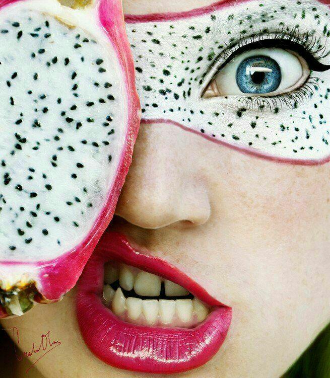 картинки макияж с фруктами если