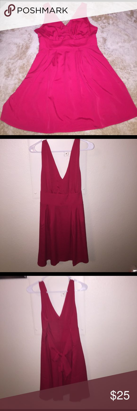 Victoria Secret Dress Like new Victoria Secret dress. Vibrant red, just above the knee in length and very figure flattering dress. 100% polyester. Victoria's Secret Dresses