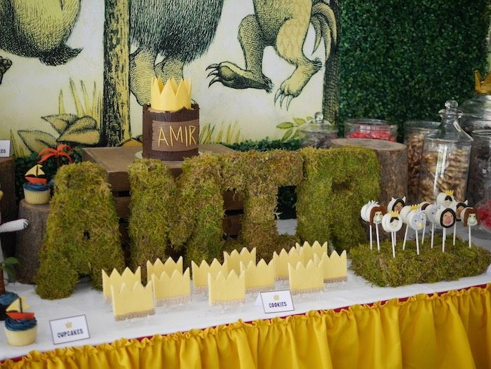 Where The Wild Things Are Birthday Party via Kara's Party Ideas | The Place for All of Your Party Needs! KarasPartyIdeas.com (6)