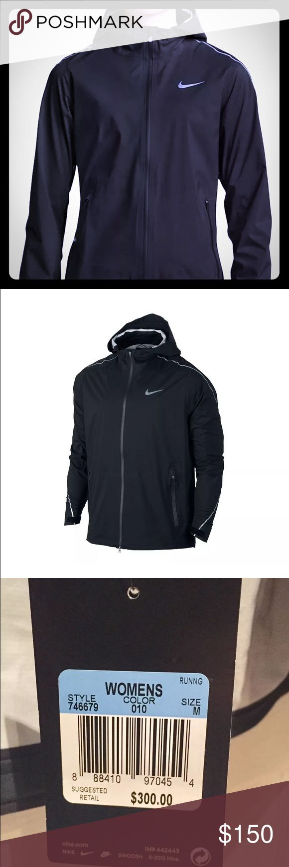 Nike Hyper Shield Women's running jacket M hooded Imported ...