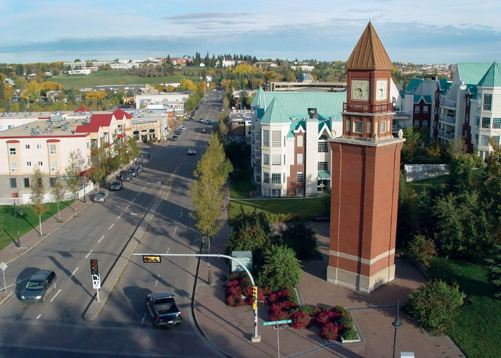 St. Albert takes country's top spot