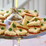 Striped Ribbon Sandwiches Recipe | MyRecipes.com