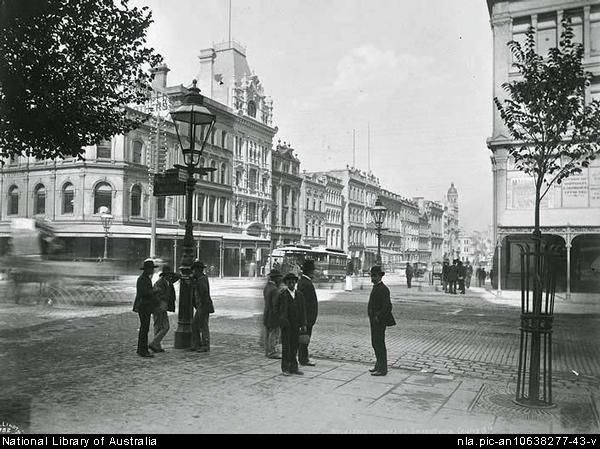 Melbourne in the 1880s