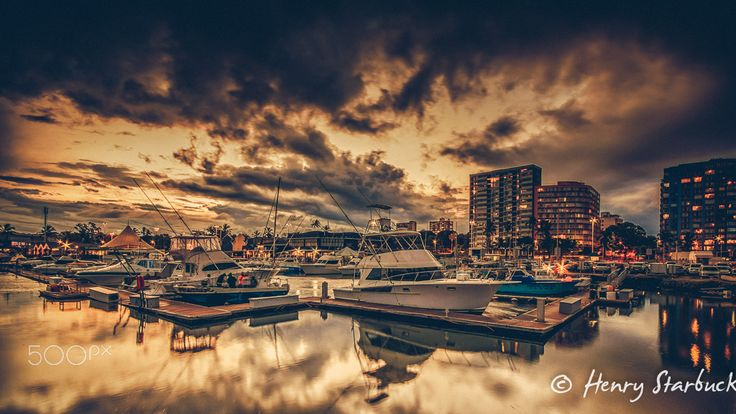 Wilson's Wharf - After all the rain we are having the last few days there was a few hours where the skies started clearing, just had o rush down to the harbour and take a few awesome sunset photos.