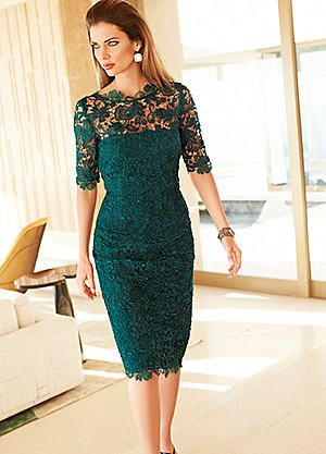 Exquisite Lace Dress #kaleidoscope #fashion #wedding #MOTB