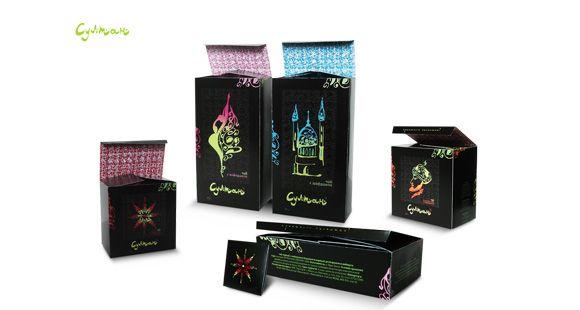 Упаковка чая Султан