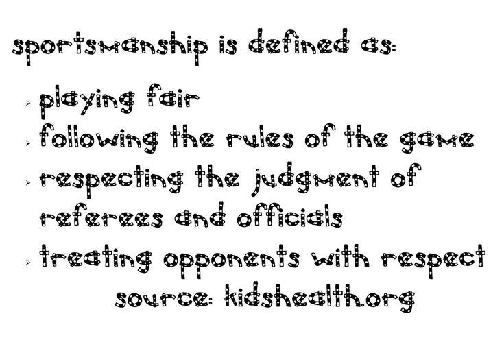 quotes about sportmanship | Stories of Sportsmanship