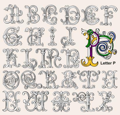 Heritage Crafts Medieval Letters