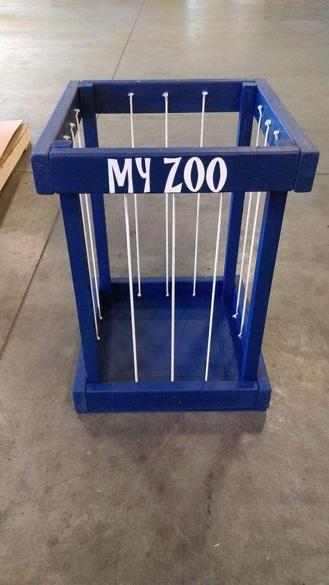stuffed animal storage stuffed animal zoo by SandJBargainVault