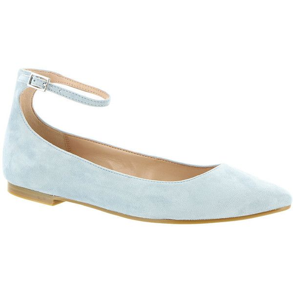 BCBGeneration Malinda Women's Blue Slip On ($79) ❤ liked on Polyvore featuring shoes, flats, blue, ballet pumps, slip-on shoes, flat shoes, ballerina shoes and blue ballet flats