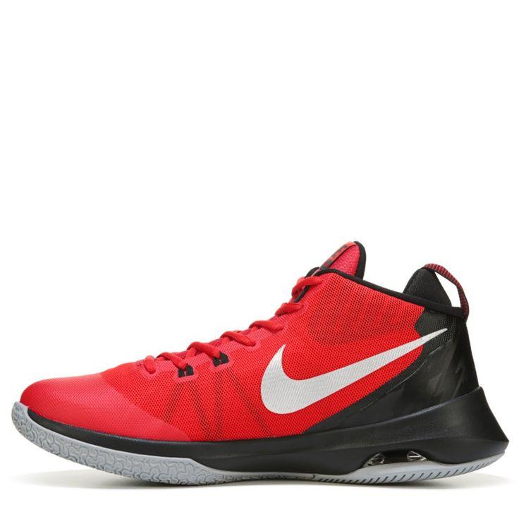 Nike Men\u0027s Air Versatile Basketball Shoes (Red/Black/Silver)