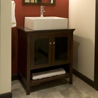 Vessel Sinks Rona : Vessel sink vanity Bathrooms Pinterest