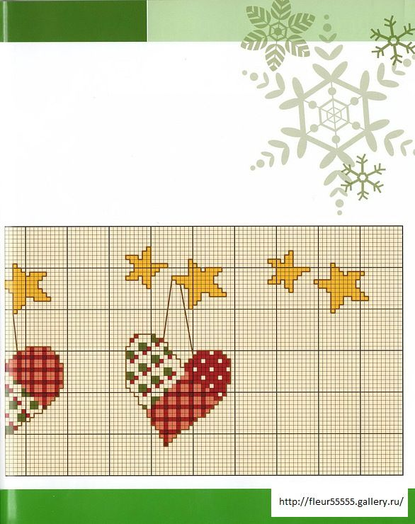 Cross-stitch Patchwork Hearts Border, part 2.. color chart on part 1... Gallery.ru / Фото #9 - 86 - Fleur55555