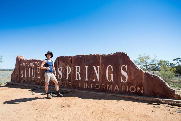 Outback Matty in Alice Springs - Jacaru Australia