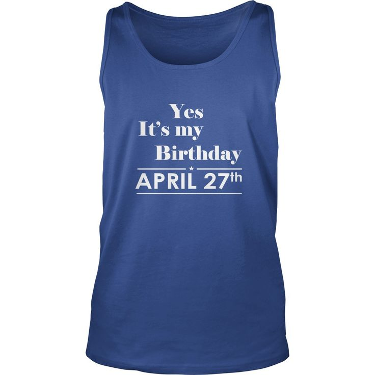 Birthday April 27 Shirt for womens and Men ,birthday, queens I LOVE MY HUSBAND ,WIFE Birthday April 27-TShirt birthday