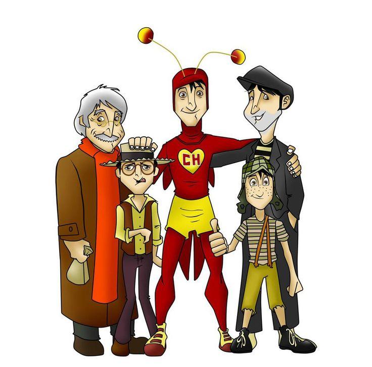 chespirito - sus personajes