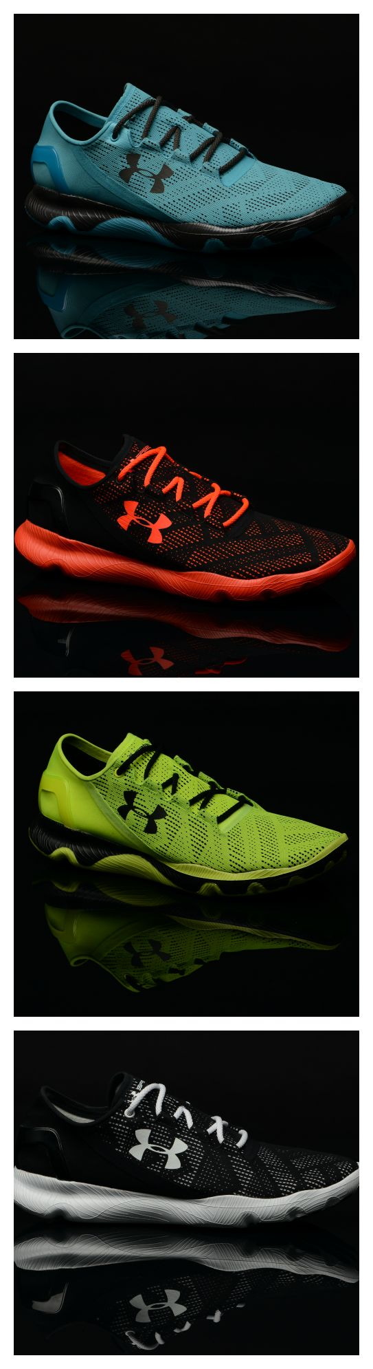Run with style in every stride. The Under Armour Speedform Apollo Vent.