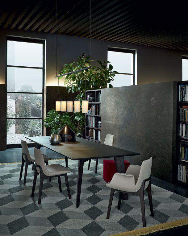 Dining room ideas. See more: http://www.brabbu.com/en/inspiration-and-ideas/