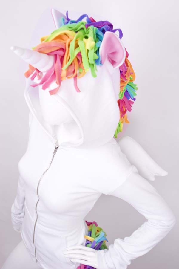 UNICORN HOODIE ^I would so wear this!!