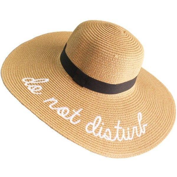 PardoBed Womens Embroidery Floppy Bucket Summer Kentucky Derby Sun Hat... (173.260 IDR) ❤ liked on Polyvore featuring accessories, hats, straw sun hat, summer floppy hat, straw beach hat, summer beach hats and floppy sun hat