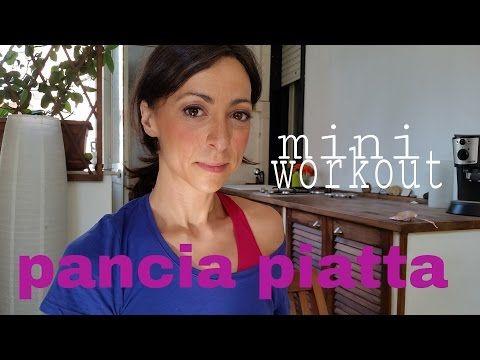 pancia piatta workout | FUNZIONA - YouTube