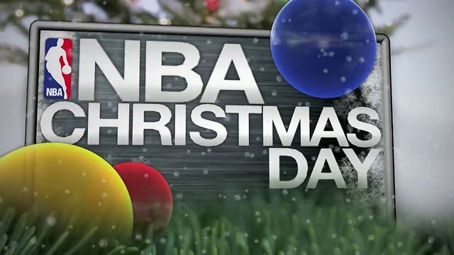 NBA Christmas Day game schedule