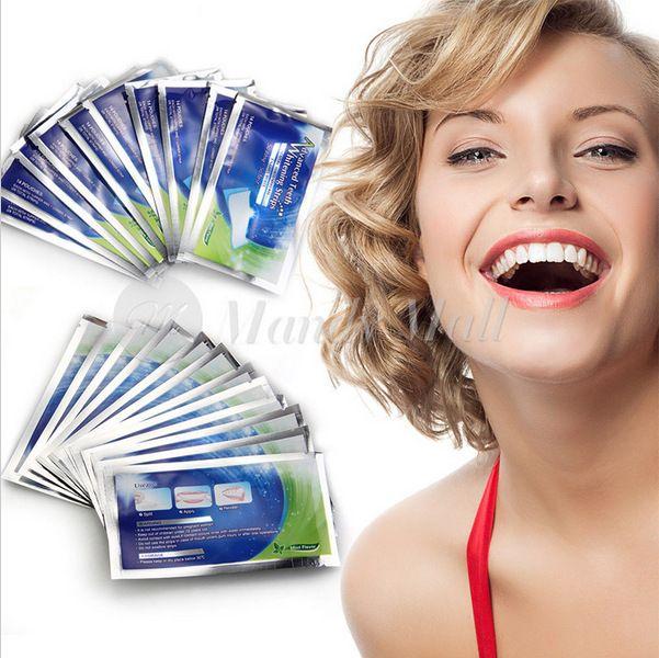 New 28 pcs/14 Set Professional Teeth Whitening Strips Tooth Bleaching Whiter Whitestrips Set  Dental Care Free Shipping